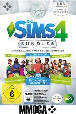 Die Sims 4 Dschungel-Abenteuer + Kleinkind Fitness Accessoires EA Origin PC EU