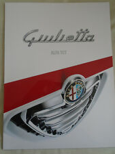 ALFA ROMEO GIULIETTA TCT opuscolo NOV 2011