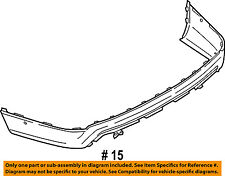 FORD OEM 16-17 Explorer Rear Bumper-Lower Cover FB5Z17F828A