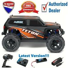 Traxxas 1/18 LaTrax 76054-1 Teton 4WD Monster Truck RTR Orange Latest Version