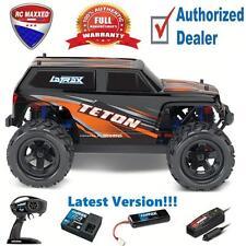 Traxxas 1/18 LaTrax 76054-1 Teton 4WD Monster Truck RTR Orange Latest Version