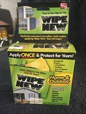 Wipe New As Seen On TV Home And Outdoor Surface Restorer And Protector New N Box