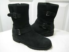 Blondo  Black Leather Waterproof Ankle Boots Shoes Women's Size 6 M.