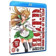 High School of the Dead - Drifters Of The Dead Edition (Blu-ray, 2013, 3-Disc S…
