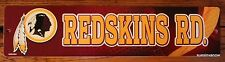 Washington Redskins Plastic Street Sign  NFL Football League Room Decor