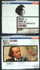 Eliahu INBAL Signiert MAHLER Symphony No.7 DENON Japan 2CD Sinfonie Hi-Fi
