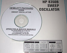 HP  8350B  Ops, Prog, & Service Manuals + App Notes