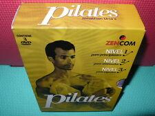 PILATES - 3 DVDS - ZEN - 3 NIVELES -