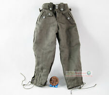 Figura de acción 1/6 ww2 alemana global Panzergrenadier Uniform Trousers Pants fh_1c