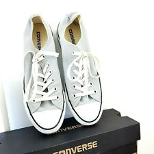 All Star Converse Trainers Light Mirage Grey Low Top Women's Canvas Size 6 UK