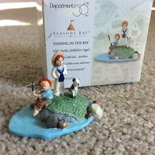 Brand new Department 56 - Seasons Bay - Fishing In The Bay -Retired #53313