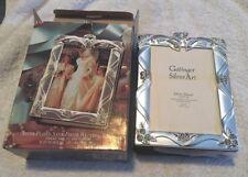 Vintage Godinger Silver Plated Satin Finish Wedding Album 4x6 NIB