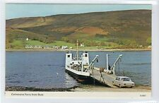 COLINTRAIVE FERRY FROM BUTE: Shipping postcard (C17403)