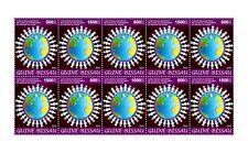 More details for guinea-bissau medical stamps 2020 mnh corona frontline health workers 10v m/s