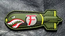 Dropping F Bomb WW 2 Style Tactical Morale Hook Patch (hook-3d PVC Rubber)