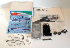 Véhicules miniatures en métal blanc pour Lancia