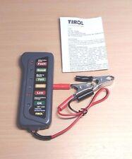12V 15 Amp Lead Acid LED Digital Battery and Alternator Tester