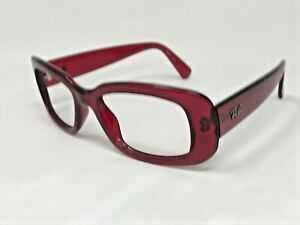 RAY-BAN RB4122 735/8G Sunglasses Frame Italy Womens Burgundy Crystal Red LC33