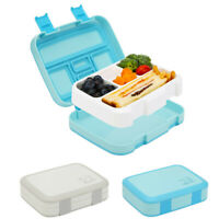 800ML Kids Lunchbox 5 Compartment Food Container Bento Box Leakproof Lunch Box