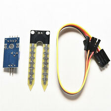 New Pro Soil Humidity Hygrometer Moisture Detection Sensor Module Arduino 4-Wire