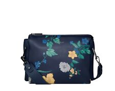 Fiorelli NEW Chester navy floral print crossbody women's shoulder bag BNWT