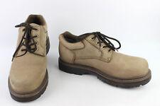 Zapatos oxford GALAPAGOS Cuero Nobuck Beige T 45 MUY BUEN ESTADO