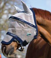 Horseware Rambo FLY MASK PLUS Vamoose Bug/Insect/Midge/Fly Protection FlyMask