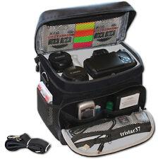Kamera Tasche für CANON EOS 760D 750D 700D Fototasche bis 2 Objektive sw. NEU