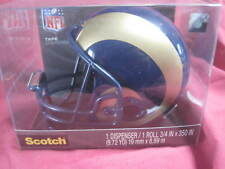 St. Louis Rams  Mini Helmet Official NFL Scotch Tape Dispenser GREAT COLLECTIBLE