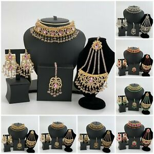 New Pakistani Bollywood Indian Asian Jewellery Set For Wedding and Parties