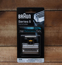 Braun 51S Shaver Replacement Foil Cutter Block 550 530 590 570 560 8995 8985