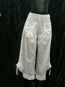 Womens Cotton Bloomers Pantaloons Cotton sizes Small to 3XLarge new with tags