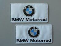 PATCH BMW MOTORRAD BIANCA N.2  RICAMATE TERMOADESIVE CM.10X5-COD.307