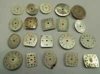 20 Ladies Vintage Wrist Watch Dials Bulova Caravelle Elgin Dufonte 4 Art Lot#P58