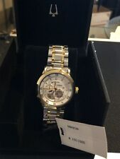 Bulova 98A230 Men's 42mm 21 Jewel Automatic Two Tone Stainless Steel Watch
