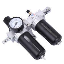"""1/4"""" Wasserabscheider Druckluftfilter Druckminderer Oeler Druckregler Luftfilter"""