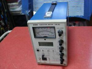RION VIBRATION METER VM-80