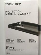 Tech21 Evo Check Series Flexible Protective Gel Case for LG G6 - Smoke / Black