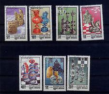 Guinea Bissau 674 - 680 gestempelt s. Scan Schach