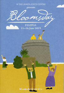 James Joyce - Ulysses - Bloomsday Official Guide - Dublin 2019 - perfect!