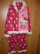 Girls' Hello Kitty Coat Pajama Sleepware Set (T=37)