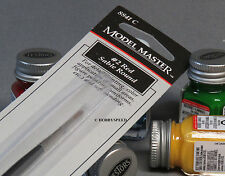 TESTORS MODEL PAINT BRUSH SIZE #2 ROUND RED SABLE artist detail TES 8841C NEW