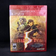 Resident Evil 5 Gold Edition (PS3 / PlayStation 3) US Ver. / NEW / Region Free
