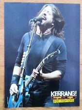 FOO FIGHTERS 'Dave and blue guitar' magazine PHOTO/Poster/clipping 11x8 inches