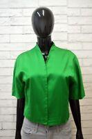 Giacca Corta Donna MAX MARA Taglia 44 Vintage Blazer Jacket Women's Casual