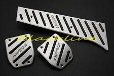 For BMW E36 E46 E90 E92 E88 E60 E63 Z4 F22 F30 F32 MT Manual Aluminum Pedal Set