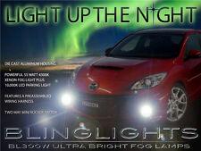 Xenon Halogen Fog Lamps Driving Lights Kit for 2010 2011 2012 2013 MazdaSpeed3