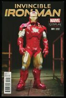 Invincible Iron Man 1 Ltd 1 for 15 Retailer Incentive Variant Comic Cosplay Cvr