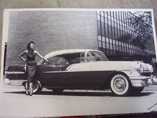1956 PONTIAC STARCHIEF 2DR HARDTOP  12 X 18  LARGE PICTURE   PHOTO