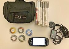 Sony Psp Consola Y Juegos Paquete